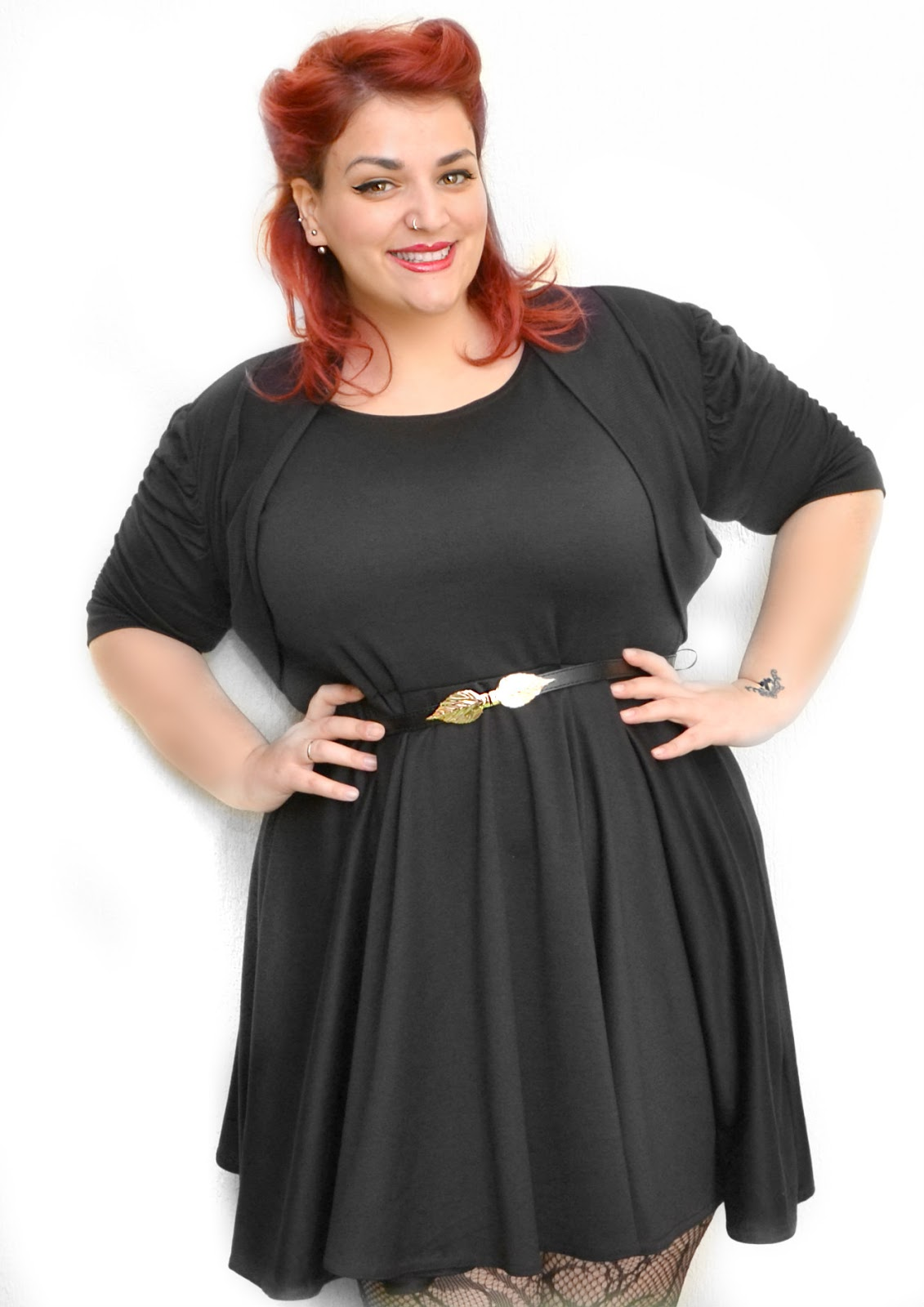 Assez Curvy World: Acquisti su Ebay - Pin Up Plus Size Outfit IB18