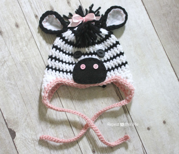 Free Crochet Zebra Patterns : ... you to zoe the zebra and her friend zack the zebra this is my latest