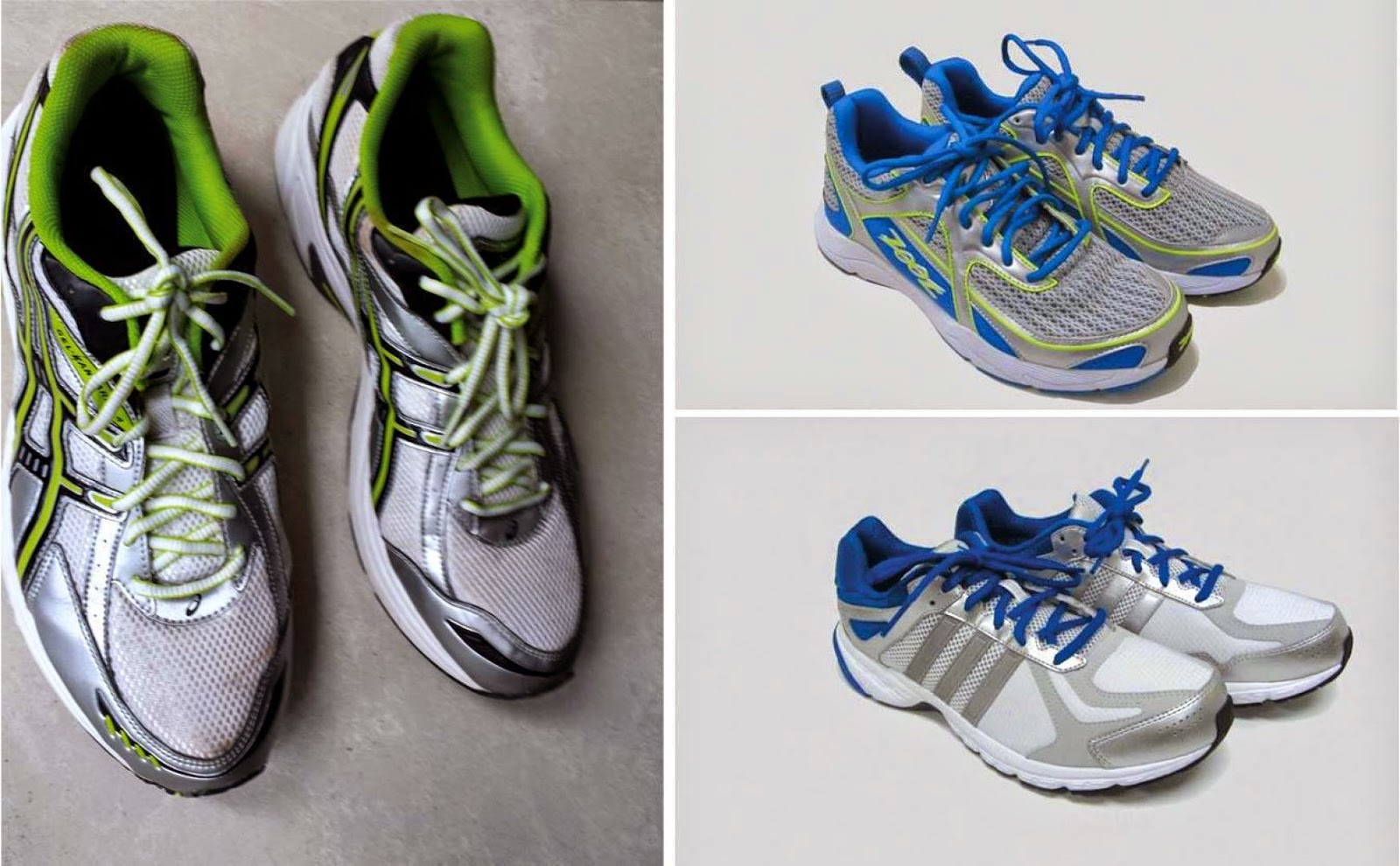 The next set of running shoes for NSmen (reservists) will be from adidas and Zoot and will be available at the end of the year.