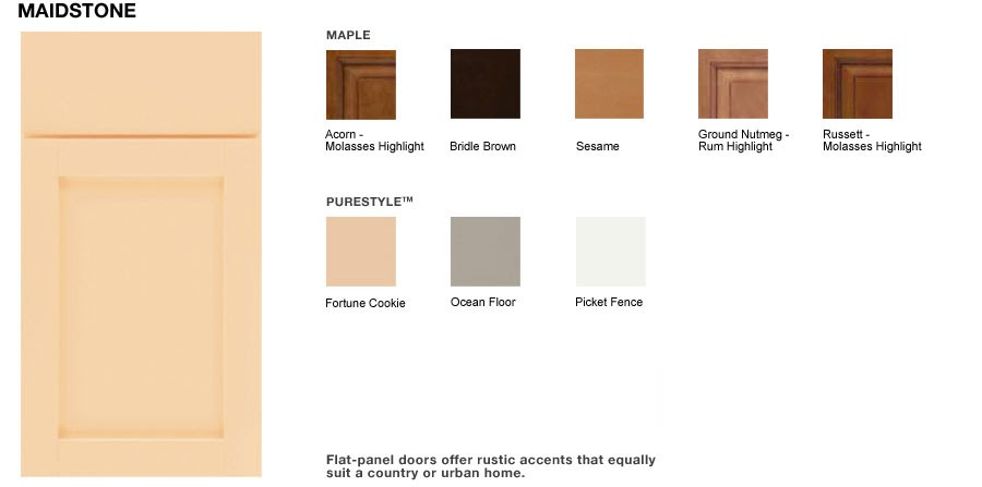 Martha Stewart Kitchen Model Maidstone : Grace Leads Me Home: Kitchen Cabinets