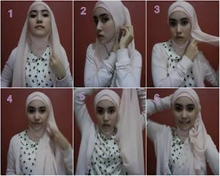 CARA MEMAKAI JILBAB Aneka Model Hijab Terbaru