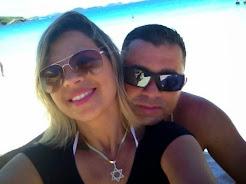 Glauce Lopes e Filipe Garcia