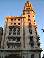 Buildings at the centre of montevideo