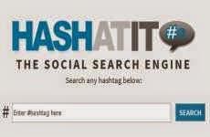 HashAtit: completo buscador de hashtags en Twitter, Facebook, Instagram, y Pinterest