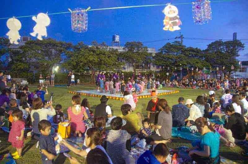 Nighttime Tanabata Celebration