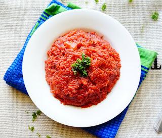 Beetroot Rice, pulav