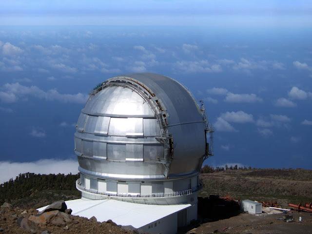 Observatorio del Norte de Europa en Santa Cruz de Tenerife