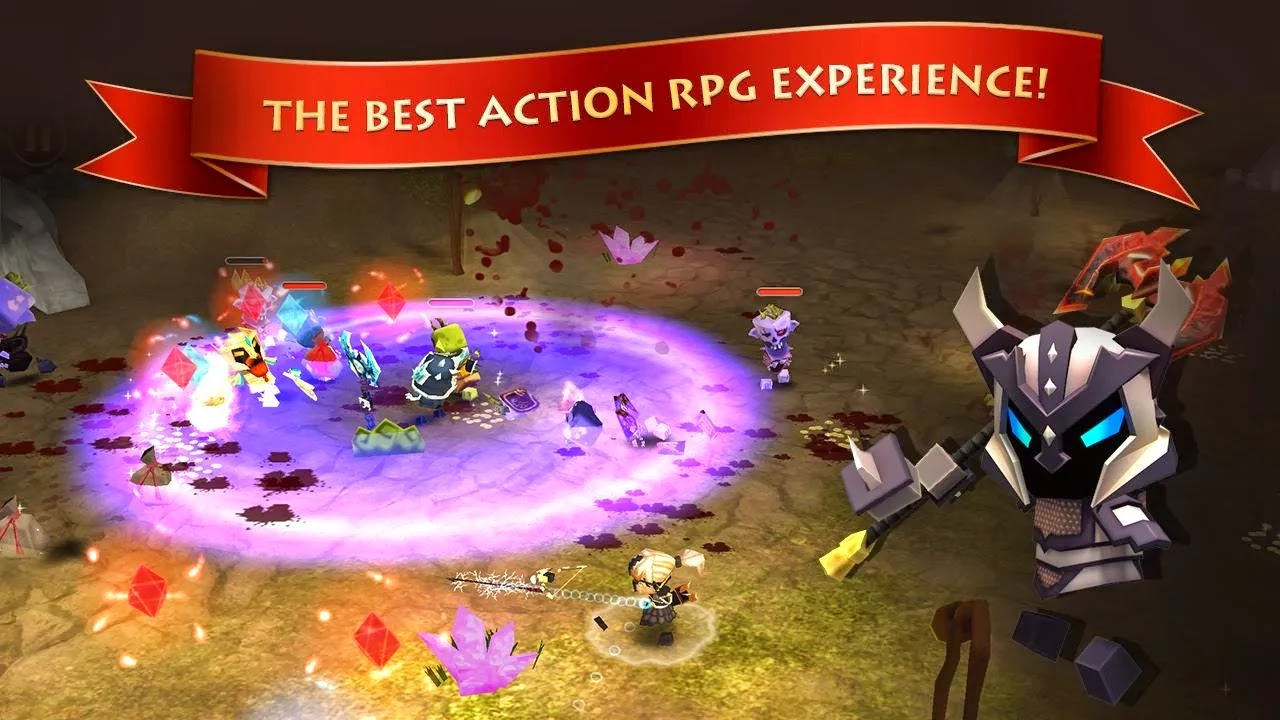 Android Elements: Epic Heroes Apk resimi 3