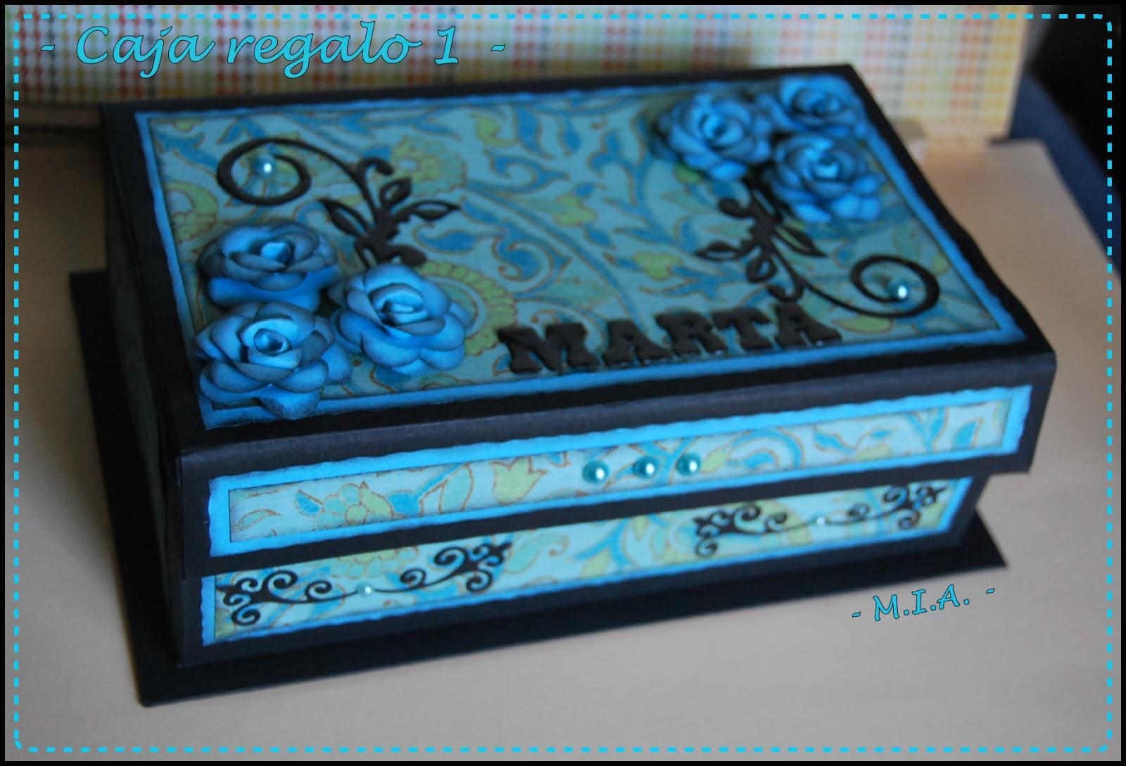 Tela papel tijeras cajas de regalo - Cajas de carton decoradas ...