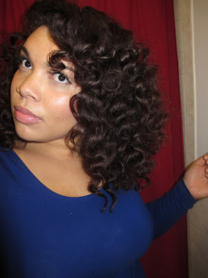 antoinette around the way curls, waves, bantu knot out, natural hair,