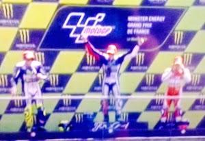 Podiun Moto GP