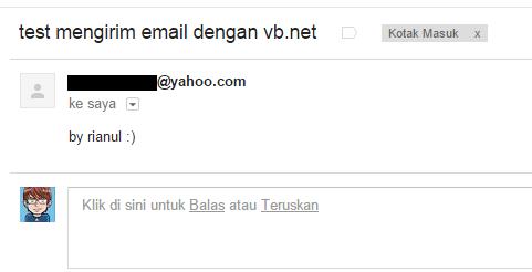 Mengirim E-mail SMTP Dengan VB.net