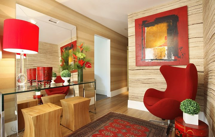 Construindo minha casa clean aparadores modernos e for Ambientes de oficinas modernas