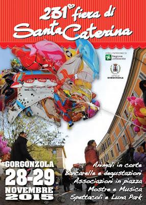 Fiera di Santa Caterina 28 e 29 Novembre Gorgonzola (MI) 2015