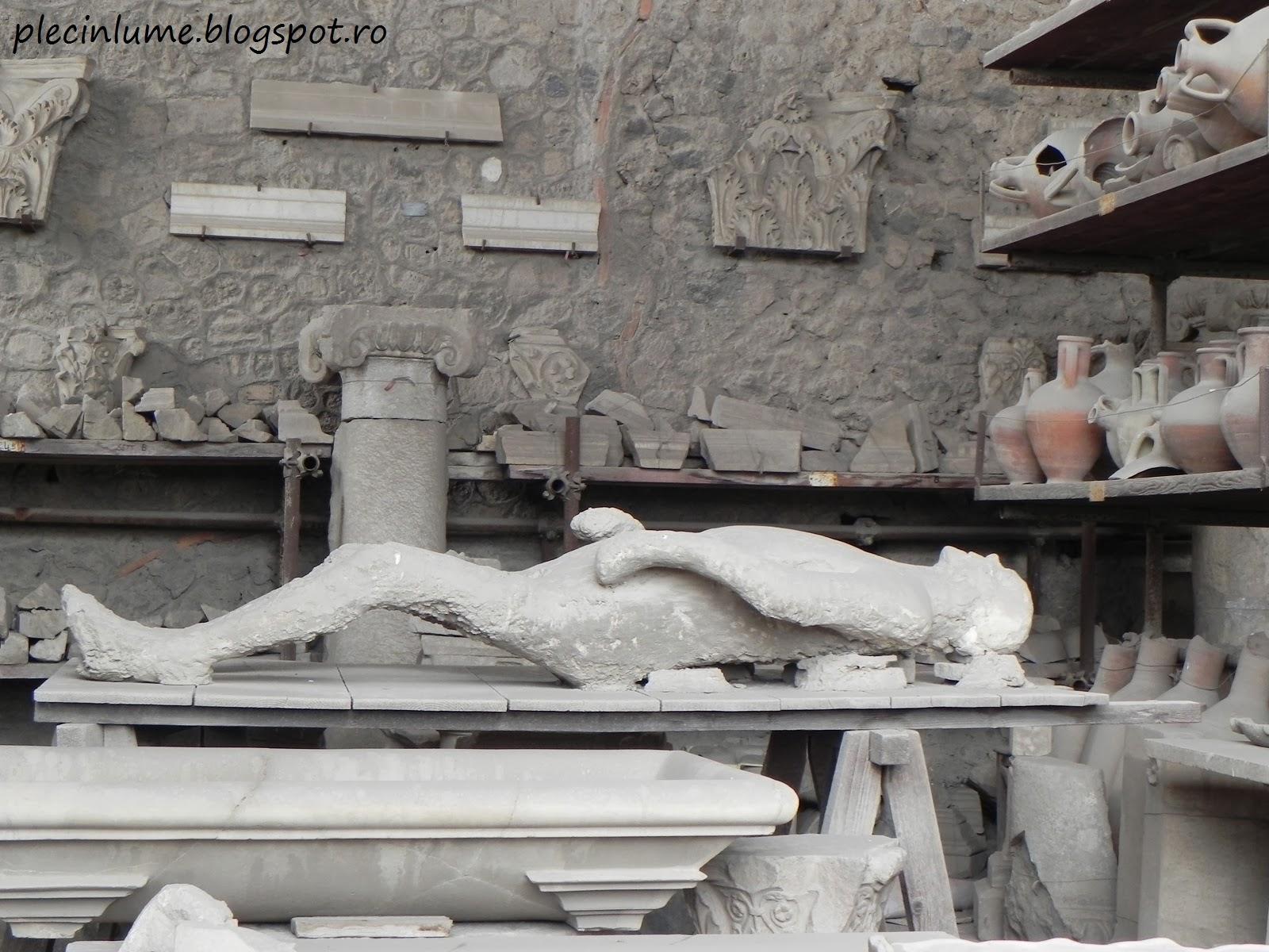 Om scos din cenusa la Pompei