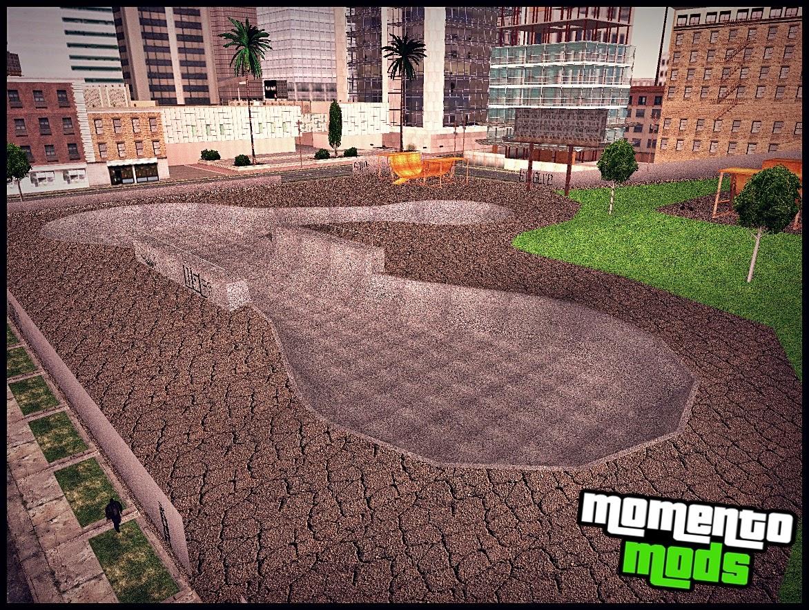GTA SA - Mod Park De Skate Em HD