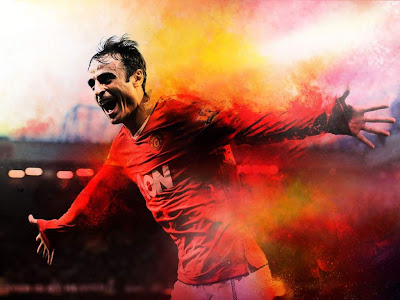 Berbatov manchester united Goal Celebration wallpapers