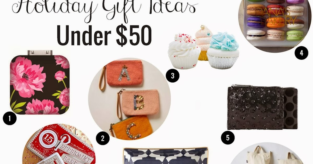 Anna And Blue Paperie Under 50 Holiday Gift Ideas