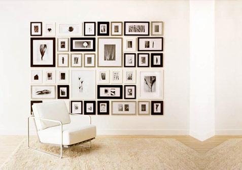 Neo arquitecturaymas decorar paredes con l minas y cuadros for Cuadros para decorar dormitorios