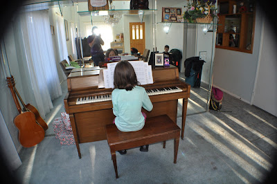 playing piano, talent, learning piano