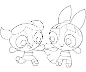 #9 Blossom Coloring Page