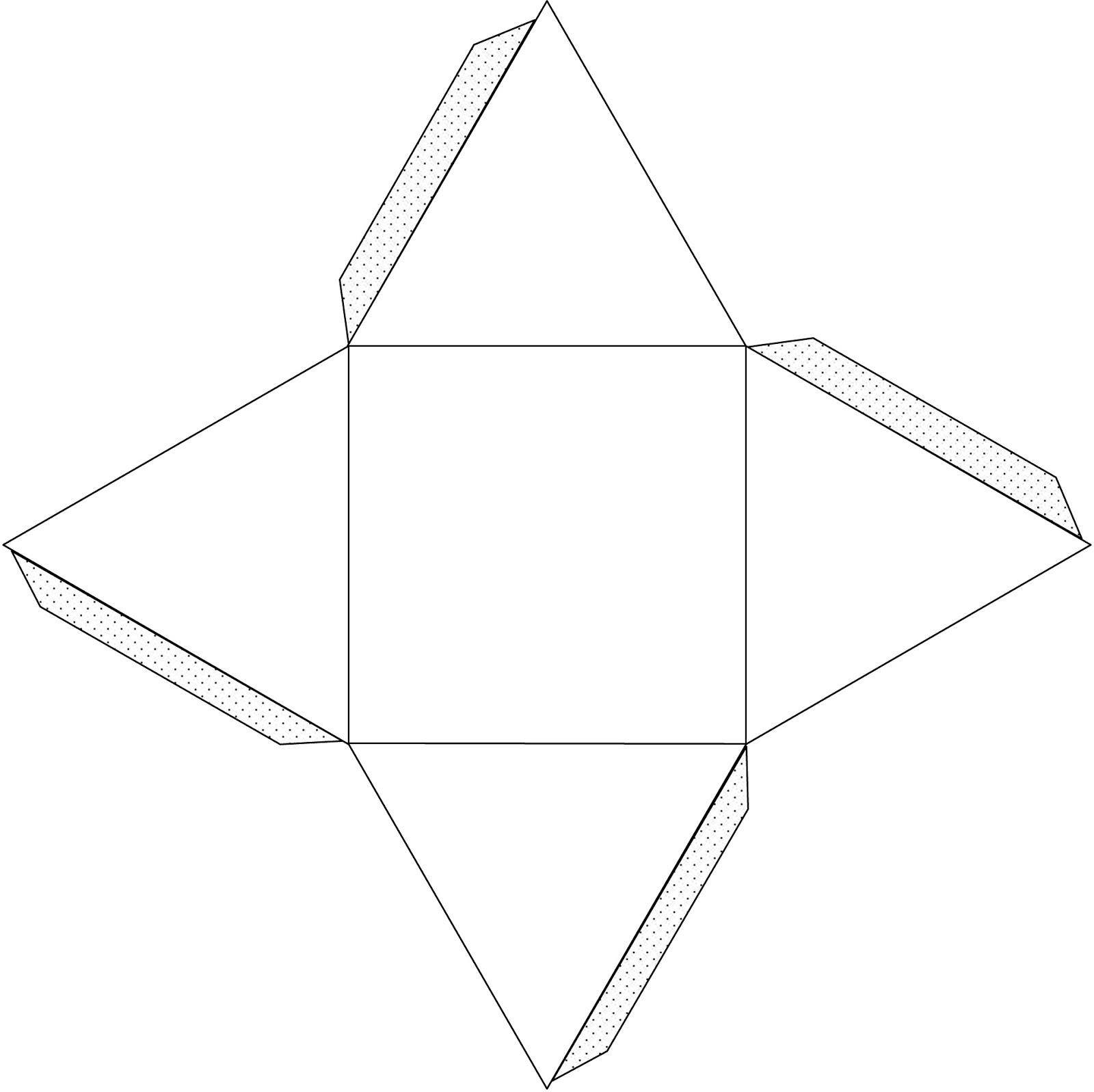 Как сделать бумажный кубик 46