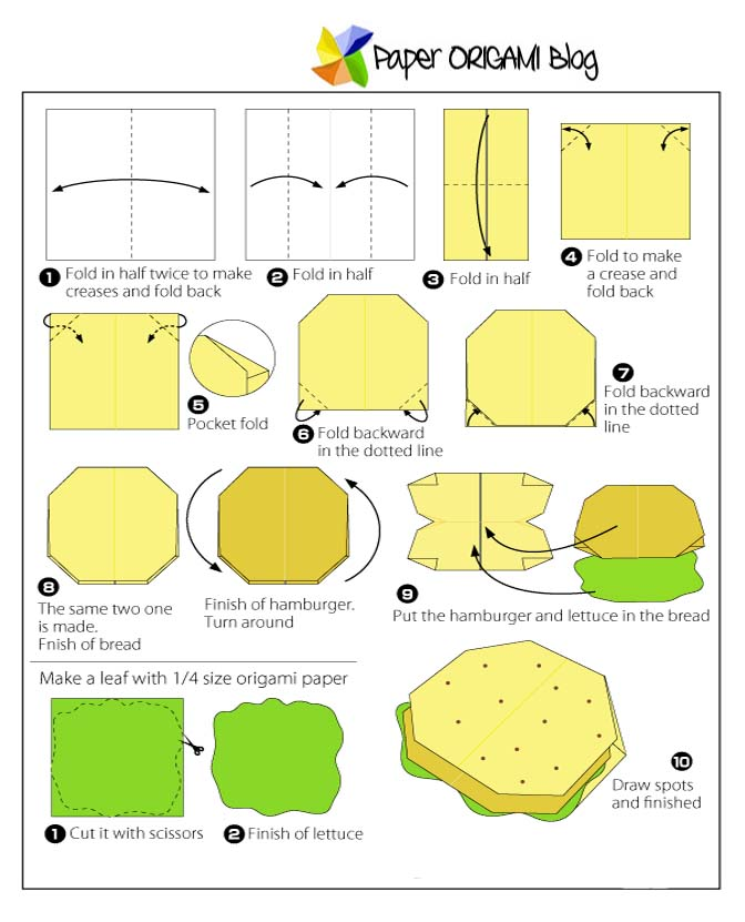Origami Kit Diagram Isntructions Video