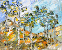 tableaux provence : les pins