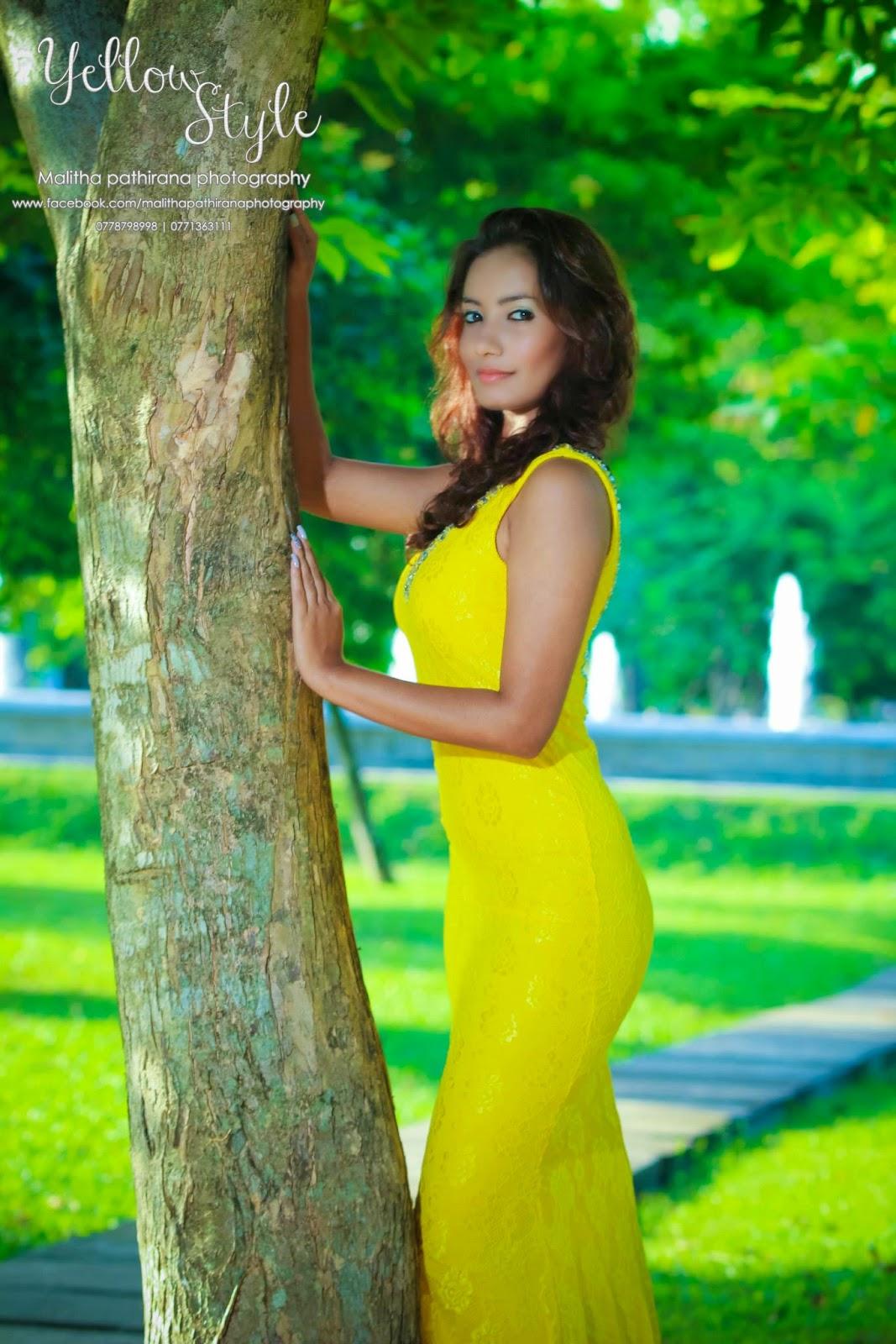 Teena Shanell Yellow Style