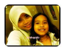 my beloved sis n my cute niece