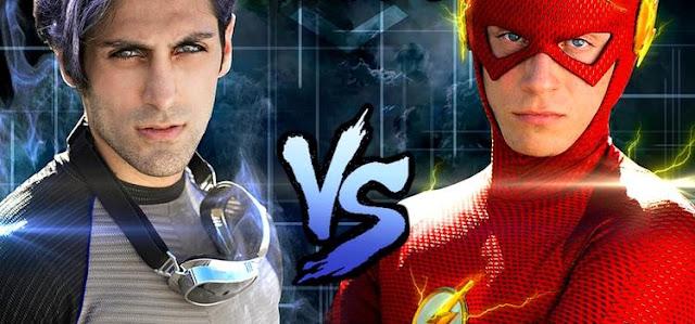 Mercurio vs The Flash