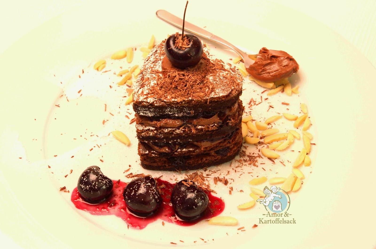 Kuchen mit Nutella