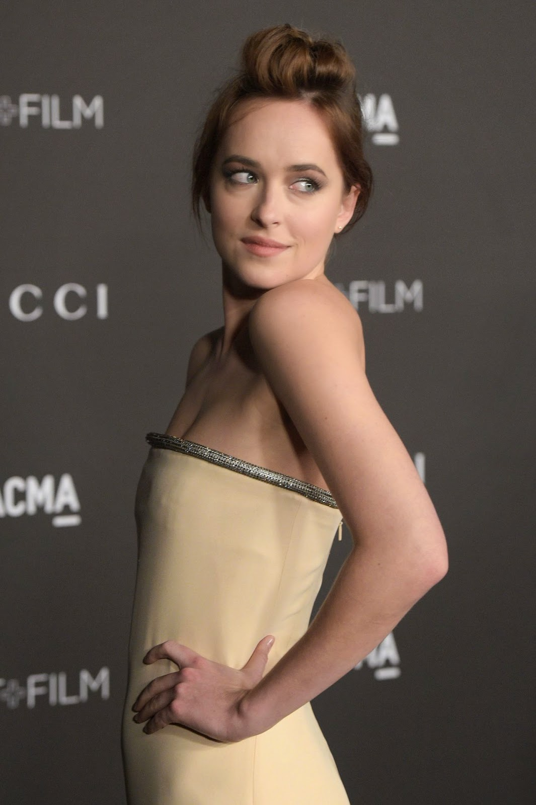 Dakota Johnson – 2014 LACMA Art + Film Gala in Los Angeles