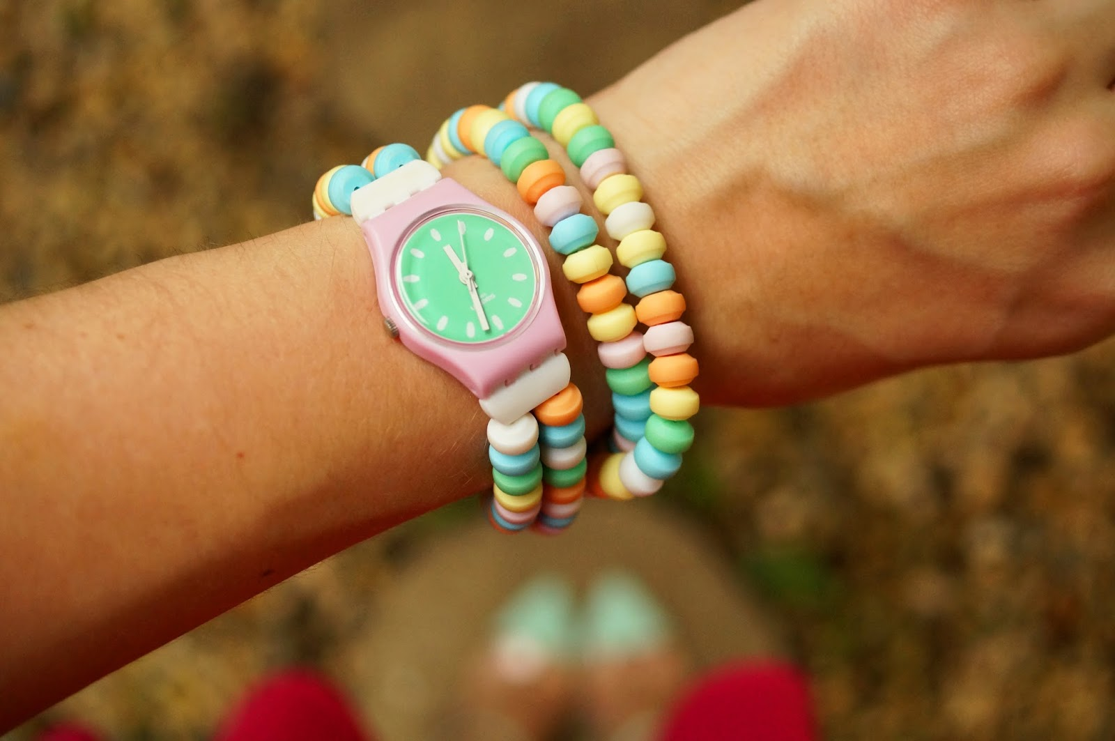 I love this super cute candy Swatch!
