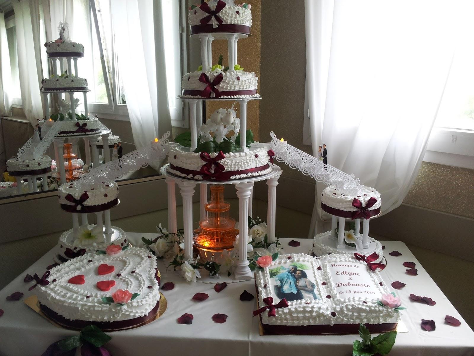La Pâtisserie de Brunette: Gâteau de mariage Haïtien