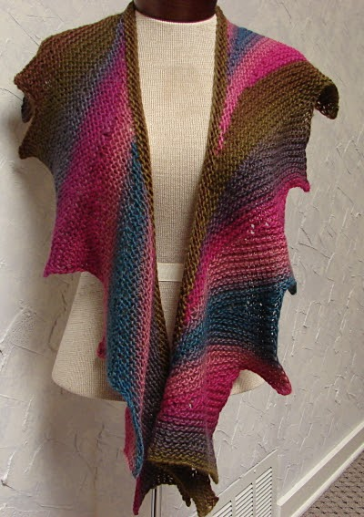 Terrific Fibers: Wingspan and knitting
