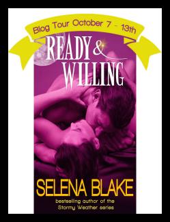 Blog Tour: Ready & Willing by Selena Blake & Giveaway