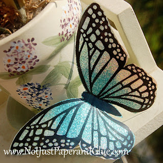 Butterfly Tutorial at Dawn's Craft Place
