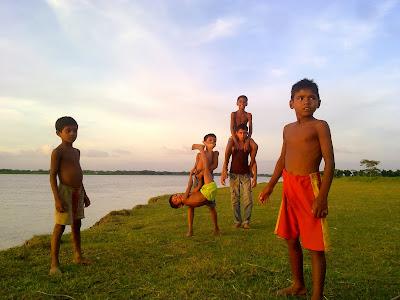 The child of Bangladesh