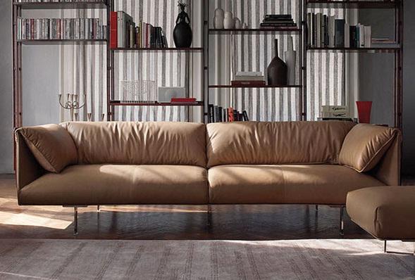 Decora y disena salas con sof s de cuero - Protector de sofas de cuero ...