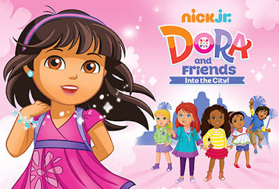 The Gallery For Gt Dora And Friends Into The City