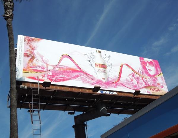 Svedka Vodka Strawberry Colada billboard