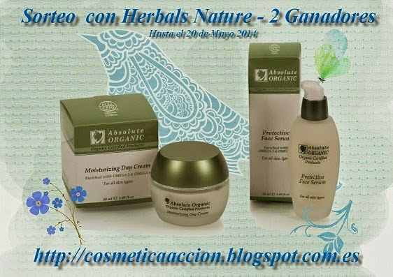 Sorteo con Herbal Natures en cosmetica en accion
