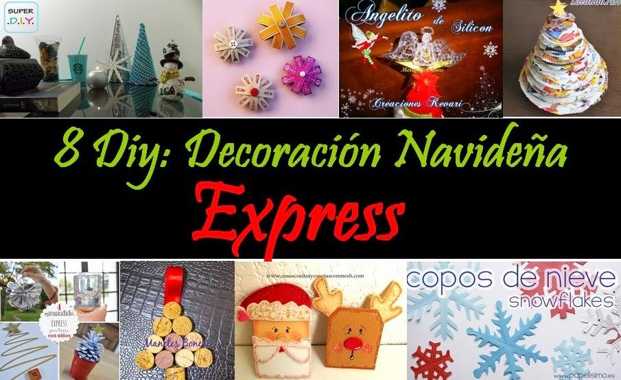 Super diy decoraci n navide a express diy - Decoracion navidena diy ...