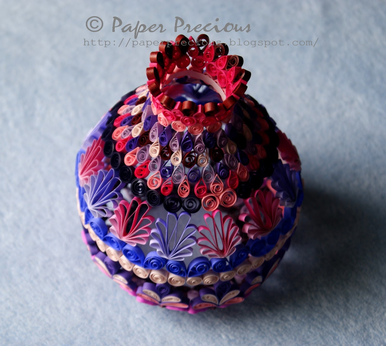 how to make paper quilling bowl