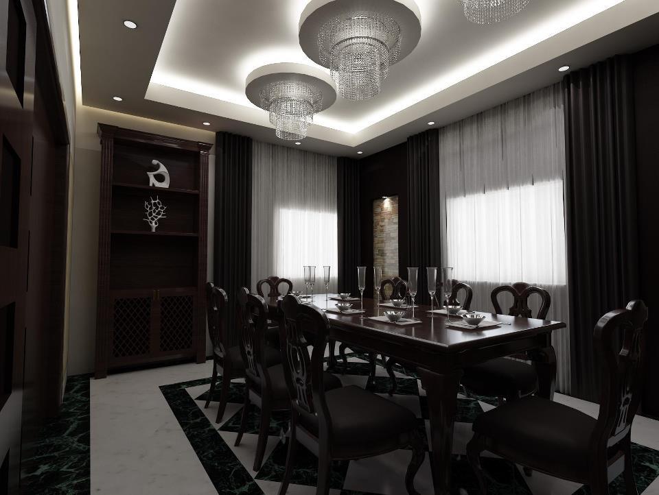 فن واصول اضاءة غرف الطعام ( Dining Room ) | جمــــــال بــيــتـــــــك