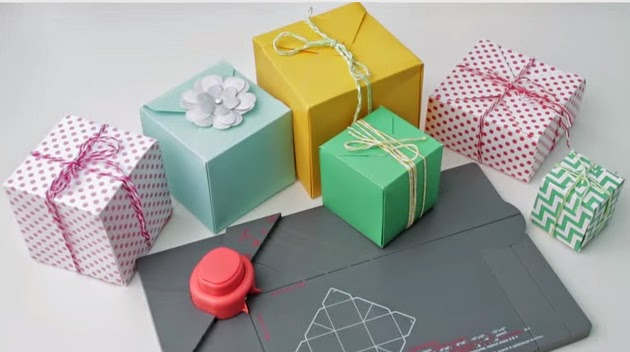 Create Gift BOXES with the Punch Board by We R Memory Keepers
