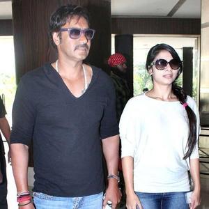 Tanisha mukherjee and ajay devgan
