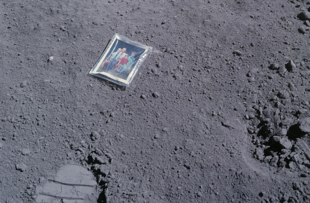 Cosas que se quedaron en la Luna