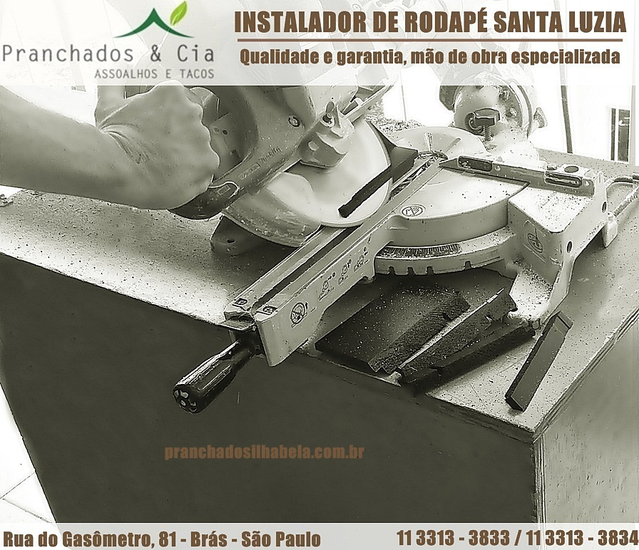 Instalador de Rodapé Santa Luzia